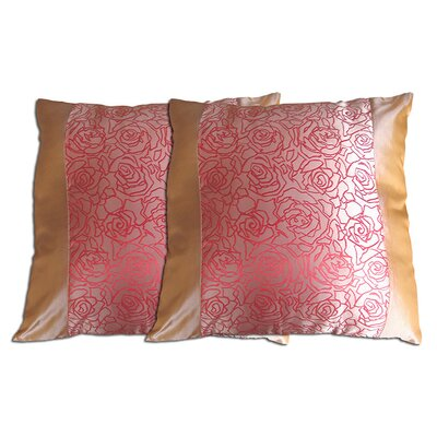 Decorative Throw Pillow Color: Pink