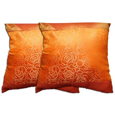 Decorative Throw Pillow Color: Orange