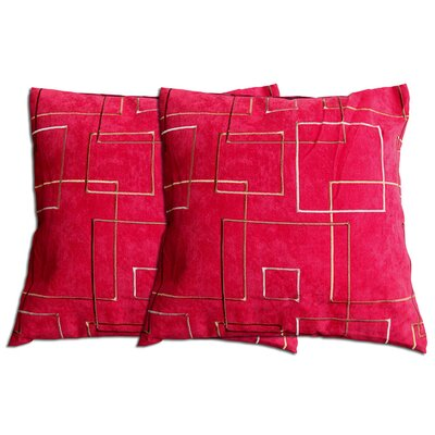 Decorative Throw Pillow Color: Red