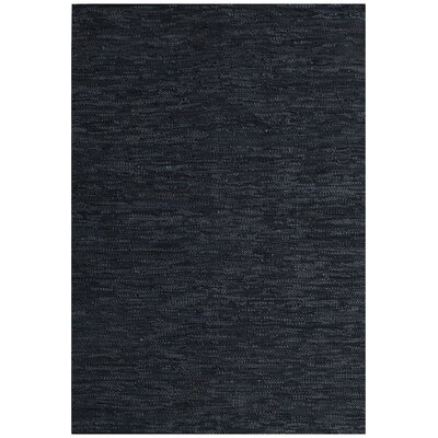 Black Area Rug Rug Size: 6 x 9