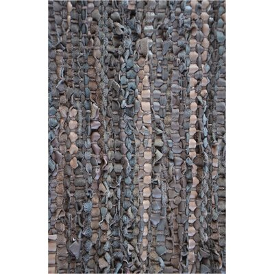 Brown Flatweave Area Rug Rug Size: 6 x 9