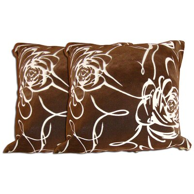 Decorative Throw Pillow Color: Brown