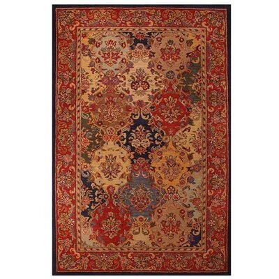 Artios Red Area Rug Rug Size: 8 x 106