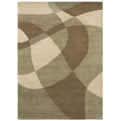 Ashley Beige/Brown Area Rug Rug Size: 8 x 11