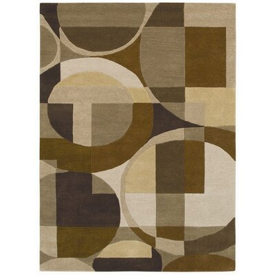 Ashley Bei/Brown Geometric Area Rug Rug Size: 5 x 8