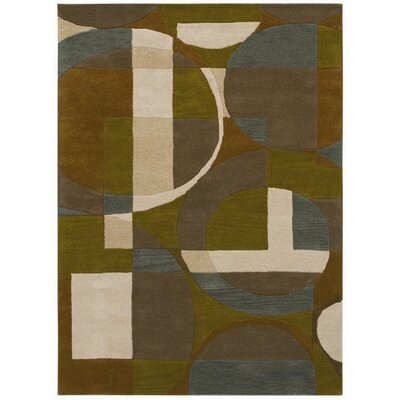 Ashley Brown Area Rug Rug Size: 5 x 8