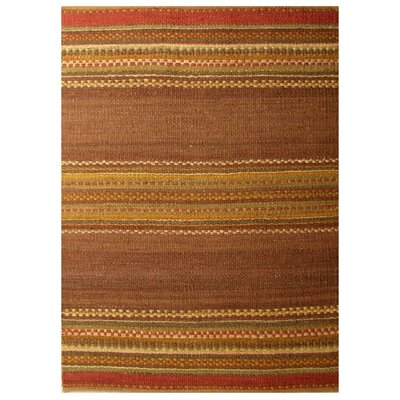 Diana Brown Area Rug Rug Size: 5 x 8