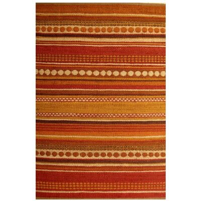 Diana Red Area Rug Rug Size: 5 x 8