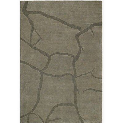 Contempo Gray/Dark Gray Area Rug Rug Size: 5 x 8