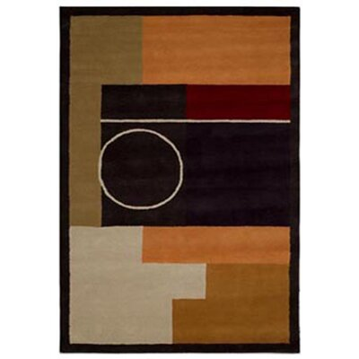 Contempo Black Area Rug Rug Size: 5 x 8