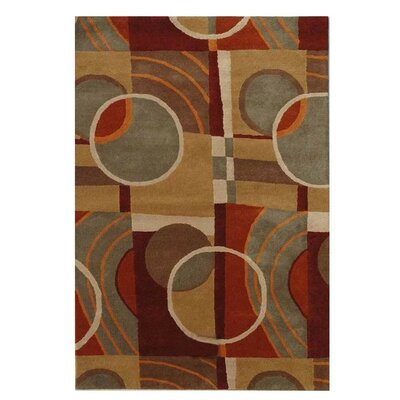 Esquire Geometric Area Rug Rug Size: 8 x 106