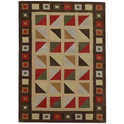 Esquire Check Area Rug Rug Size: 5 x 8