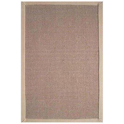 Sisal Natural/Beige Rug Rug Size: Rectangle 5' x 8'