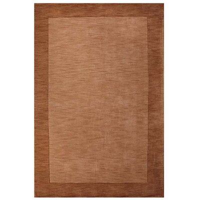 Loom Beige/Brown Rug Rug Size: 5 x 8