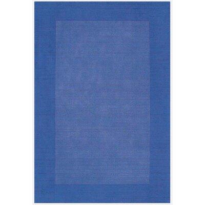 Loom Blue/Dark Blue Rug Rug Size: 5 x 8