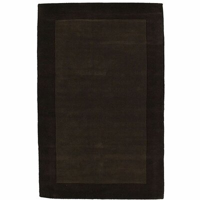 Loom Brown/Dark Brown Rug Rug Size: 5 x 8