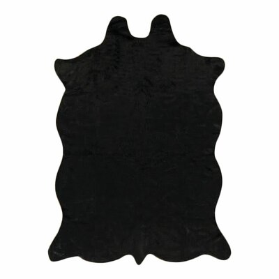 Chanler Black Area Rug Rug Size: 5 x 7