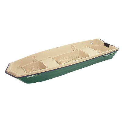 Buy Low Price KL Industries American 12′ Jon Boat in Beige / Green (11010)