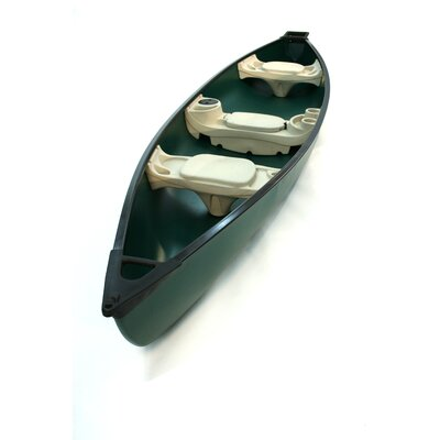 Buy Low Price KL Industries Water Quest 156 Square Stern Canoe in Green / Green (51121)