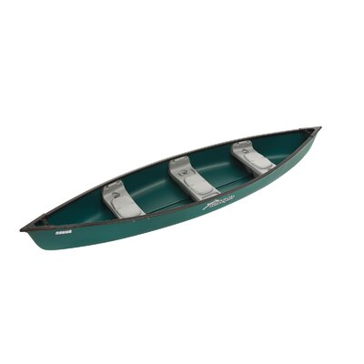 Water Quest Scout Deluxe Canoe in Green / Green