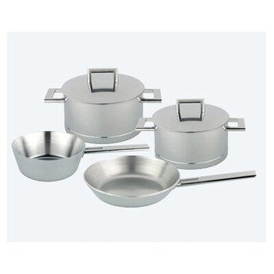 John Pawson 7-Ply Stainless Steel 6-Piece Cookware Set