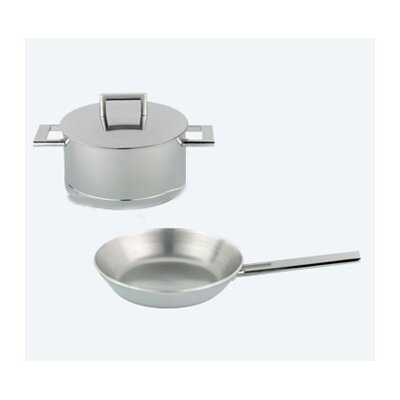 John Pawson 7-Ply Stainless Steel 3-Piece Cookware Set