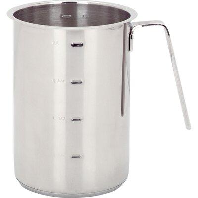 Demeyere Resto 1.2 Qt. Stainless Steel Tall Saucepan 8010
