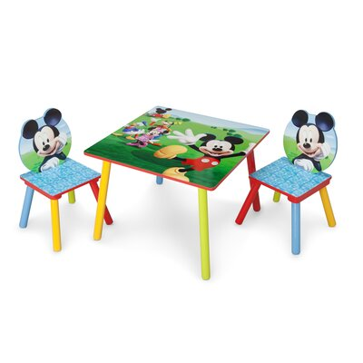 Delta Children Mickey Mouse Table and Chair Set TT89450MM