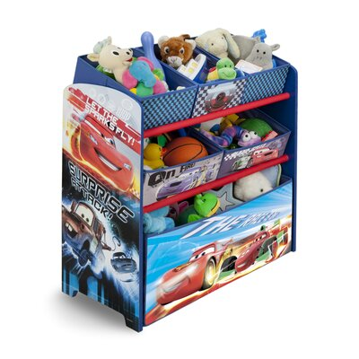 Delta Children Cars Multi-Bin Toy Organizer TB84822CR