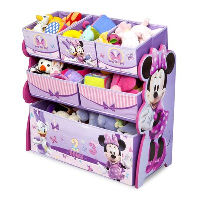 Minnie Mouse Multi-Bin Toy Organizer TB84848MN