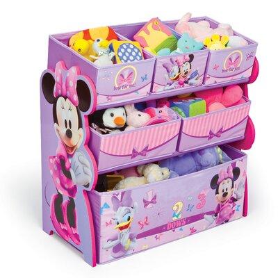 Delta Children Multi-Bin Minnie Mouse Toy Organizer TB84848MN