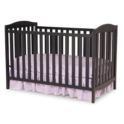 Capri 3-in-1 Convertible Crib Finish: Black 6922-001