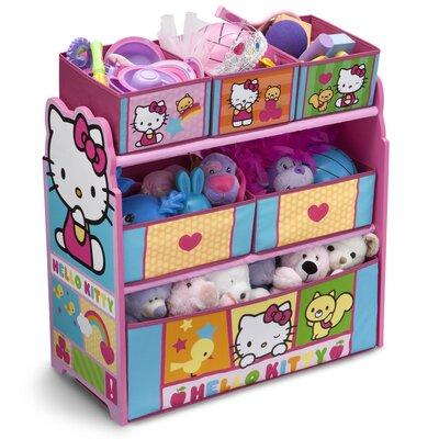 Delta Children Hello Kitty Multi Bin Toy Organizer TB84953HK