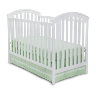 Arbour 3-in-1 Convertible Crib Finish: White 601130-100