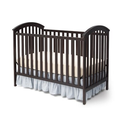 Arbour 3-in-1 Convertible Crib Finish: Dark Chocolate 601130-207