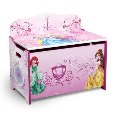 Delta Children Princess Deluxe Toy Box TB84966PS