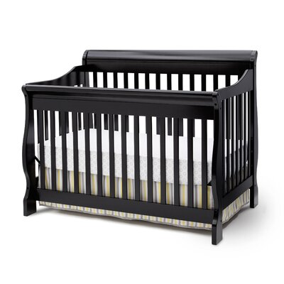 Canton Convertible Crib Finish: Antiqued Black 7888_001