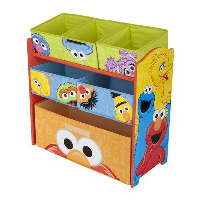 Delta Children Sesame Street Multi Bin Organizer TB84735SS