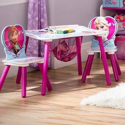 Delta Children Delta Frozen Kids 3 Piece Table and Chair Set TT89494FZ_1089