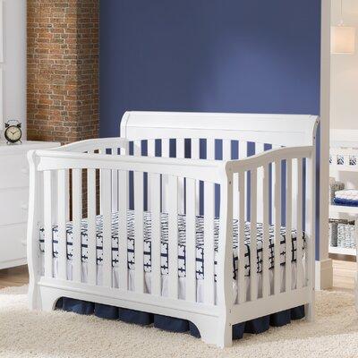 Delta Children Eclipse 4 in 1 Convertible Crib - Finish: White