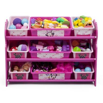 Delta Children Minnie Mouse 10 Piece Toy Organizer Set TB84407MN