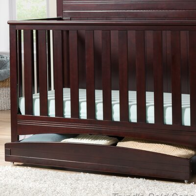 Arch Storage Trundle Color: Dark Chocolate