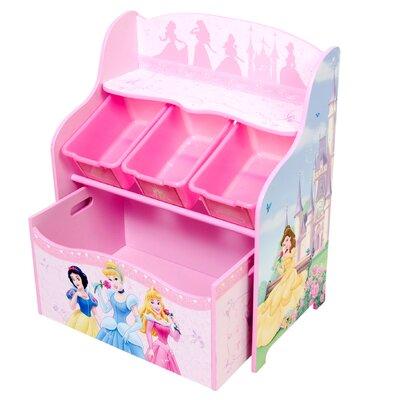 Disney Princess 3 Tier Storage Organizer And Toy Box ...