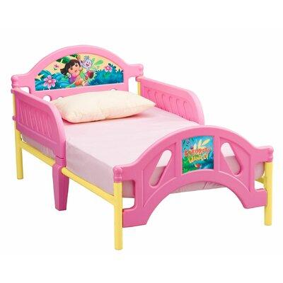 Delta Children Nickelodeon Dora the Explorer 10th Anniversary Toddler Bed BB87008DO_999