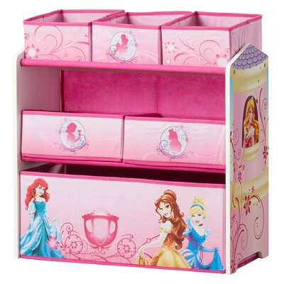 Princess Multi-Bin Toy Organizer TB84886PS