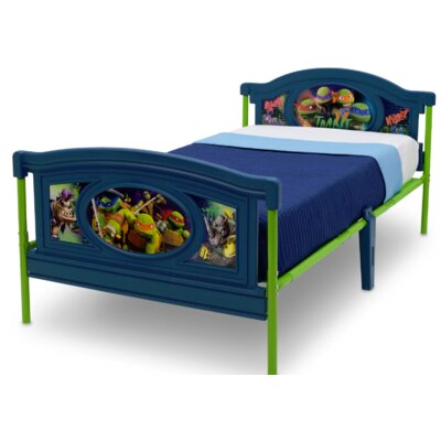 Nickelodeon Teenage Mutant Ninja Turtles Twin Panel Bed