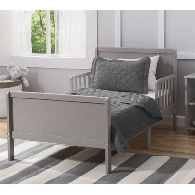 Fancy Toddler Bed Color: Grey
