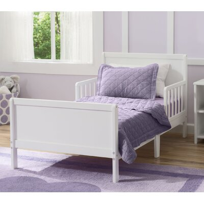 Fancy Toddler Bed Color: Bianca