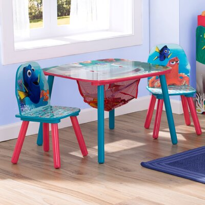 Disney/Pixar Finding Dory Kids 3 Piece Table and Chair Set TT89552FD