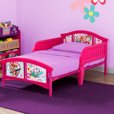 Nick Jr. PAW Patrol Skye and Everest Plastic Toddler Bed